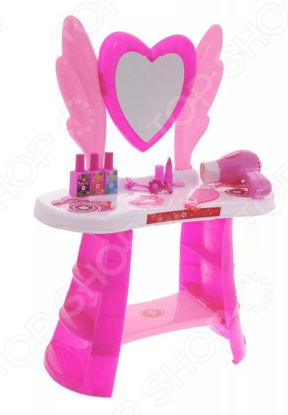 Игровой набор для девочки 1 Toy «Туалетный столик большой: Сердце» roomble столик бревно большой