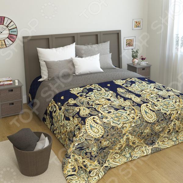 Покрывало стеганое Сирень «Индир» желтое покрывало на кровать