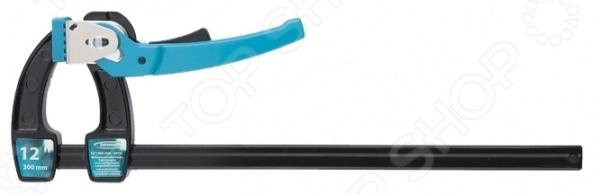 Струбцина реечная быстрозажимная GROSS с металлическим корпусом степлер мебельный gross 41001