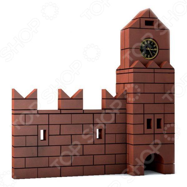Конструктор из глины Brick Master 208 «Кремль» brick master кирпичики беседка