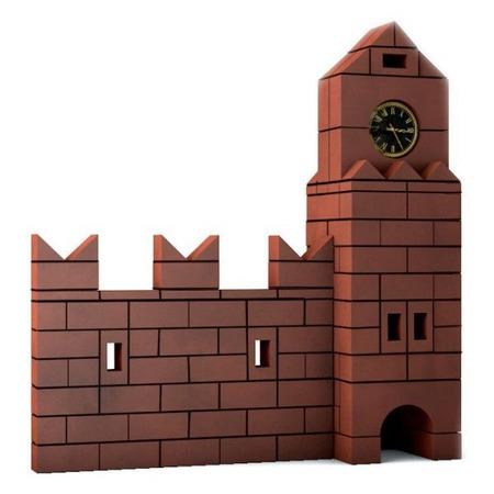 Купить Конструктор из глины Brick Master «Кремль»