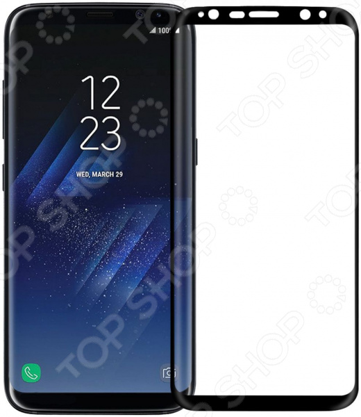 Стекло защитное 3D Media Gadget полноклеевое для Samsung Galaxy S8 стекло защитное 3d media gadget полноклеевое для samsung galaxy s9 plus