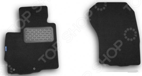 Комплект ковриков в салон автомобиля Novline-Autofamily Peugeot Partner VU 2008 фургон. Цвет: черный