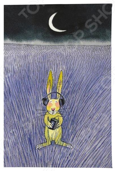 Обложка для автодокументов Mitya Veselkov «Заяц-меломан» визитница mitya veselkov заяц меломан