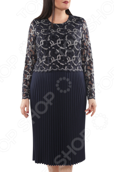 Платье Wisell «Стройнящее плиссе»