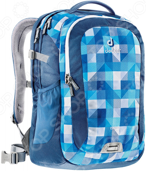 Рюкзак городской Deuter Daypacks Giga 28 blue arrowcheck рюкзак deuter daypacks giga aubergine check б р uni