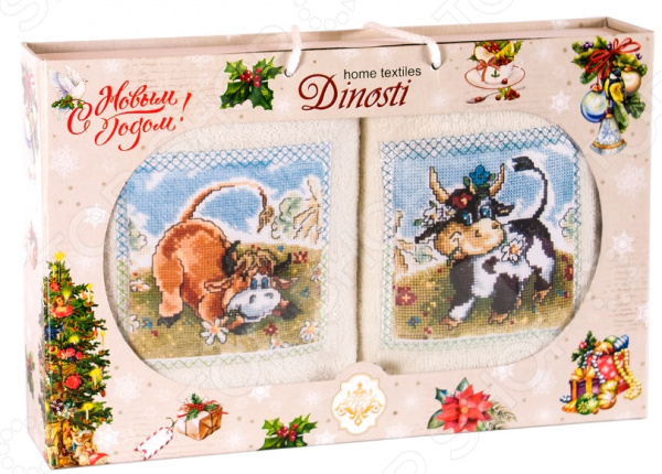 Набор кухонных полотенец Dinosti 1747335
