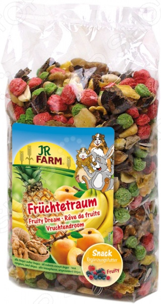 Смесь витаминная для грызунов JR Farm Fruechte Traum семена тыква витаминная 10шт