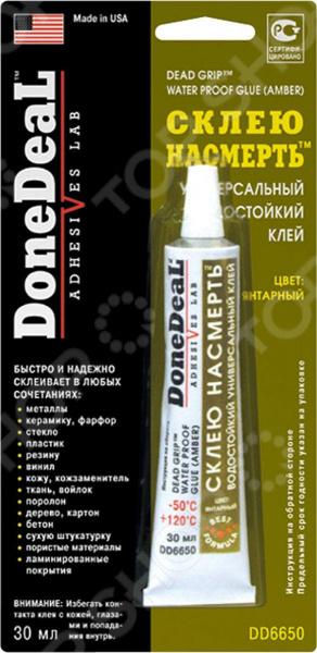 Водостойкий универсальный клей Done Deal DD 6650 набор для ремонта бескамерных шин done deal dd 0348