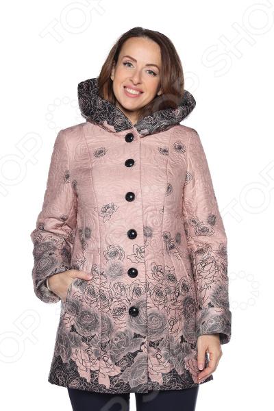 Куртка Pit.Gakoff «Теплое дыхание». Цвет: персиковый