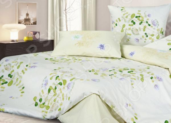 Комплект постельного белья Ecotex «Цветочный ноктюрн» ноктюрн пифагора