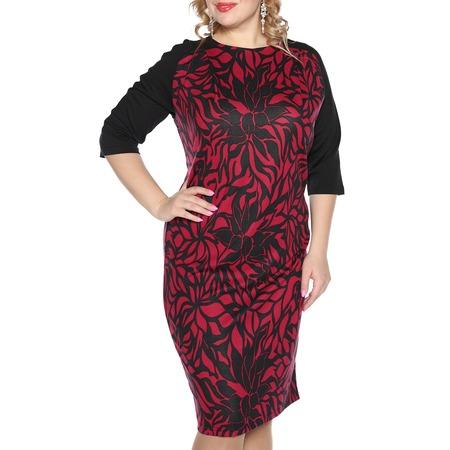 Купить Платье VEAS «Нежный жасмин». Цвет: бордовый
