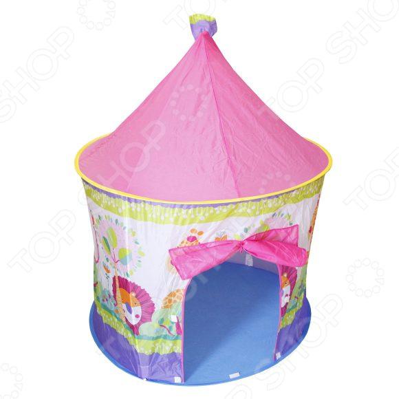 Палатка игровая Наша Игрушка «Зоопарк» с сумкой на молнии палатка игровая наша игрушка зоопарк
