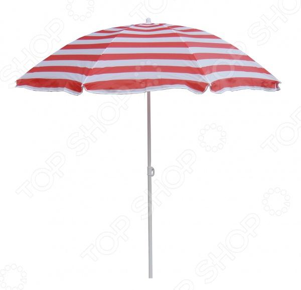 Зонт пляжный KB 001-025 Зонт пляжный KB 001-025 /Белый/Красный