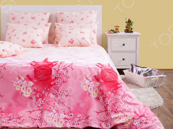 Комплект постельного белья Хлопковый Край «Долина солнца» 5269/1. 1,5-спальный