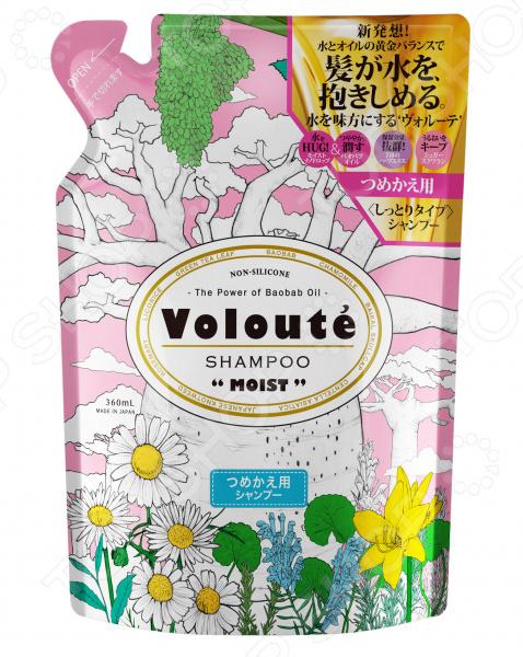 Шампунь бессиликоновый Japan Gateway в мягкой упаковке Voloute «Увлажнение» Шампунь бессиликоновый Japan Gateway в мягкой упаковке Voloute «Увлажнение» /