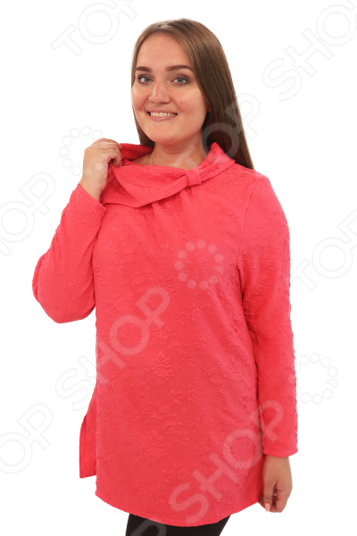 Туника Pretty Woman «Аристократка». Цвет: коралловый туники сарафаны peache monnaie туника doorly цвет коралловый l