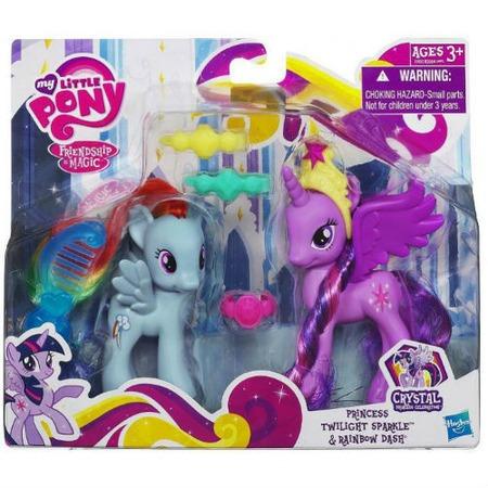 Купить Набор игровой Hasbro A2657 Принцесса Радуга Дэш с подругой Твайлайт Спаркл