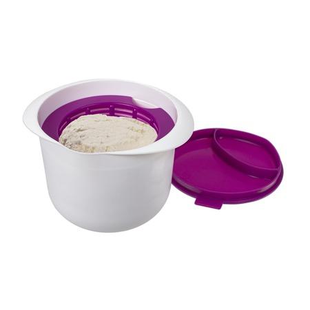 Купить Аппарат для приготовления домашнего творога и сыра «Нежное лакомство». Цвет: фиолетовый