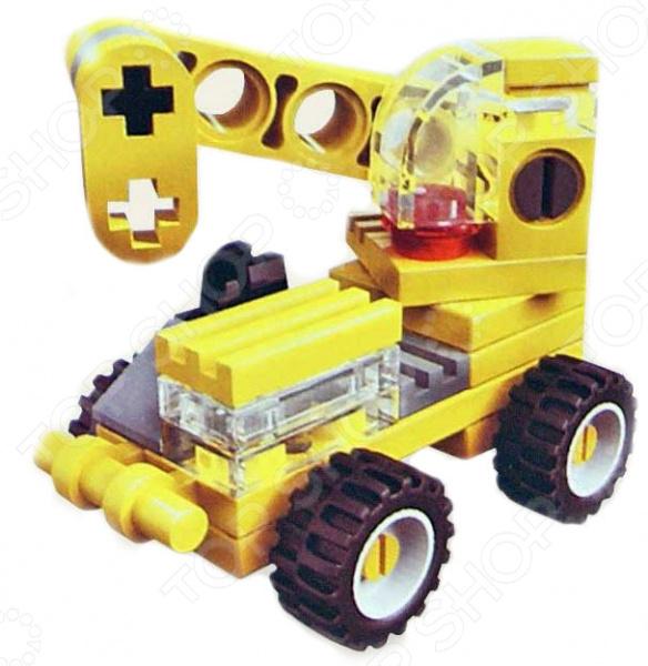 купить Конструктор игровой Brick 1216 «Трактор» Mini 1717117 по цене 100 рублей