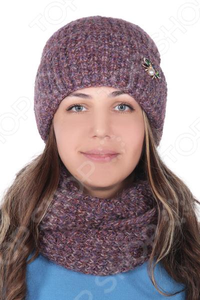 Комплект шапка и снуд DAFFY world «Нелли»