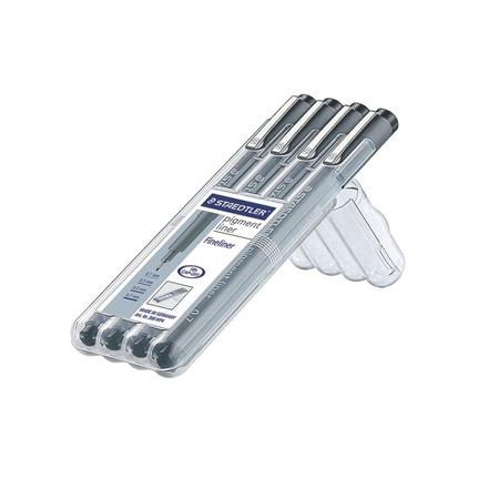 Купить Набор ручек Staedtler Pigment liner 308