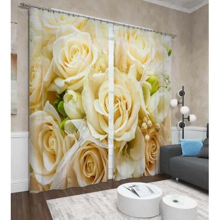 Купить Фотошторы Сирень «Тепло роз»
