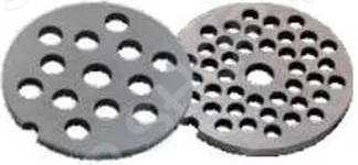 Набор из двух решеток для мясорубки Аксион Набор из двух решеток для мясорубки Аксион комплект из двух круглых...