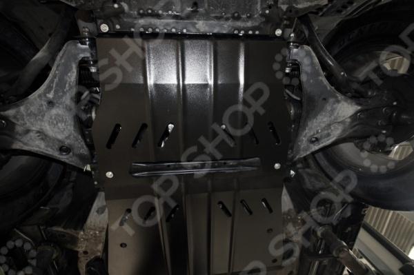 Комплект: защита картера и крепеж Novline-Autofamily Mitsubishi Pajero IV 2006-2013 2014: 3,0/3,8 бензин /3,2 дизель АКПП