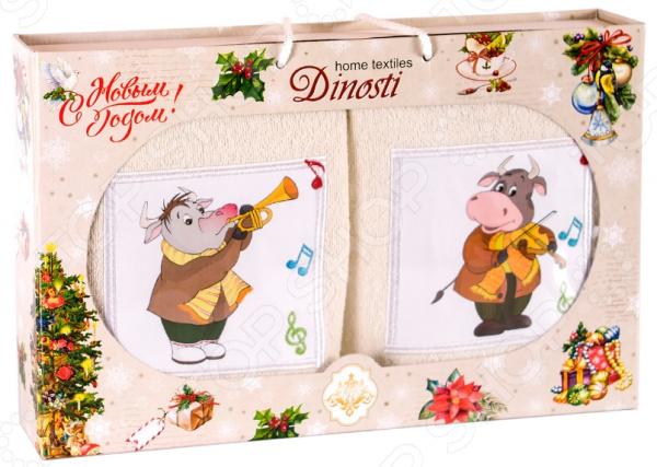 Набор кухонных полотенец Dinosti 1747334
