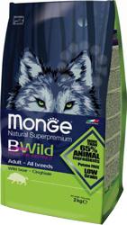 Корм сухой для собак всех пород Monge Natural Superpremium Bwild Boar