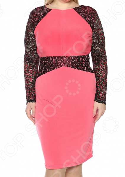 Платье ТРЕНД «Пора очарования». Цвет: лиловый платье тренд стильный силуэт цвет бордовый