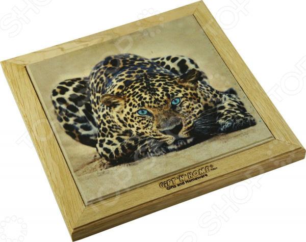 Подставка под горячее Gift'n'home «Леопард»
