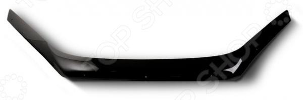 Дефлектор капота SIM Nissan X-Trail, 2007-2014 (Logo)