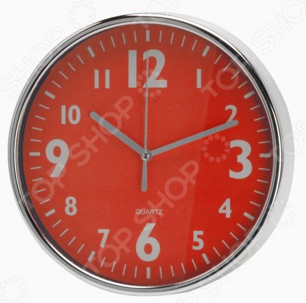 Часы настенные Mitya Veselkov «Серебристые цифры»