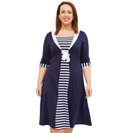 Купить Платье Матекс «Моя Венеция». Цвет: синий