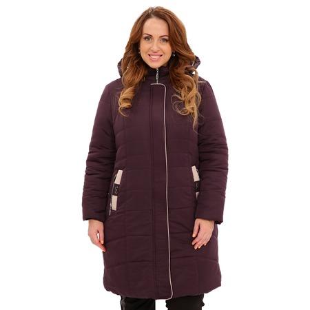 Купить Куртка «Солнечный морозный день». Цвет: темно-фиолетовый