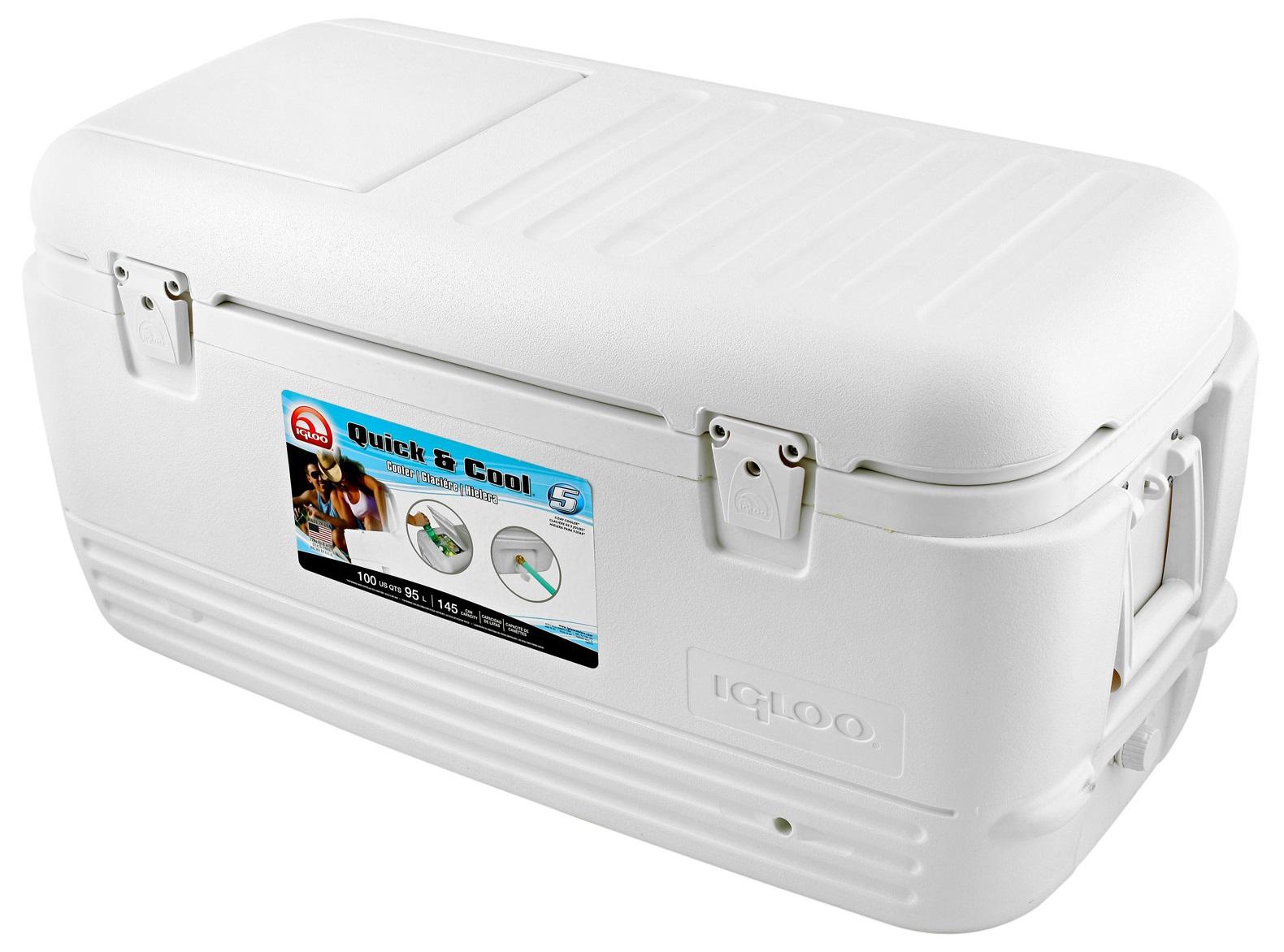 Контейнер изотермический Igloo Quick&Cool 100