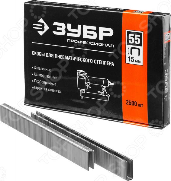 Скобы для степлера Зубр тип 55 31855