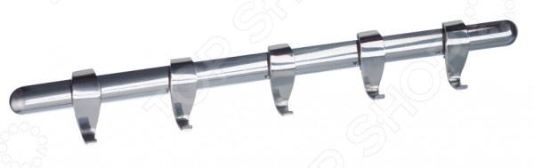 Рейлинг для кухонных аксессуаров Regent с 5 крючками полотенцедержатель с 5 крючками 350мм ledeme l1915 5