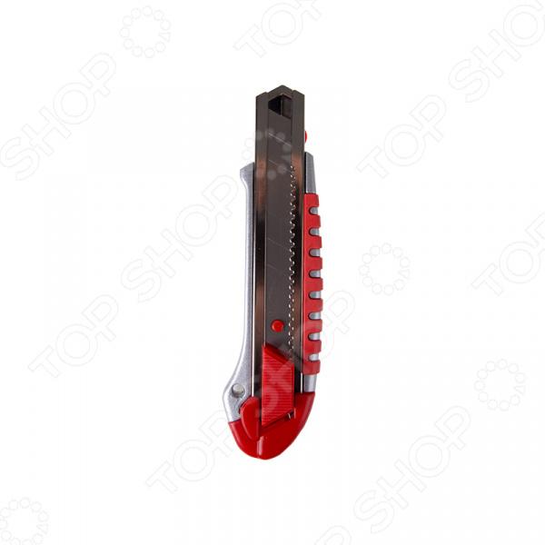 Нож строительный Rexant 12-4918 нож строительный нержавеющая сталь лезвие 95 мм rexant