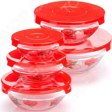 Набор салатников Loraine LR-26867-1 «Летний вкус»