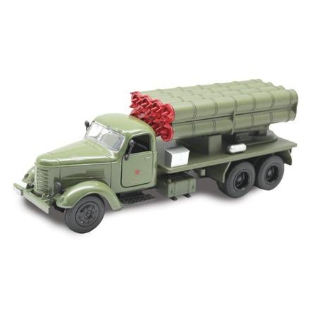 Модель передвижной установки Пламенный Мотор «Реактивная система залпового огня»