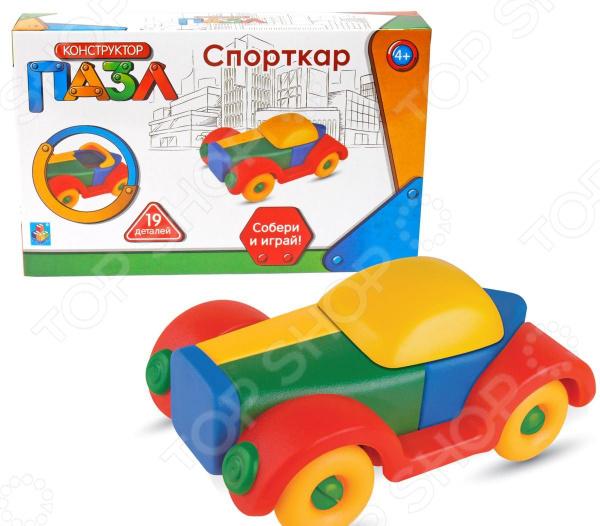 Конструктор-игрушка 1 Toy «Спорткар»