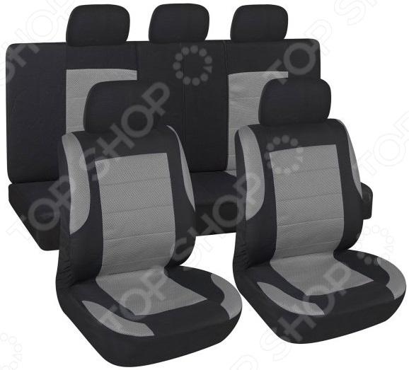 Комплект чехлов на сиденья автомобиля SKYWAY Forward-6