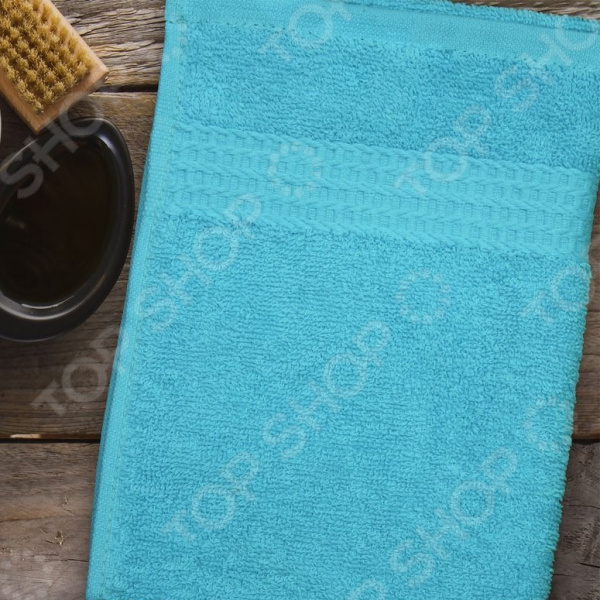 Полотенце махровое Amore Mio AST Classic. Цвет: бирюзовый полотенце махровое amore mio ast classic цвет малиновый
