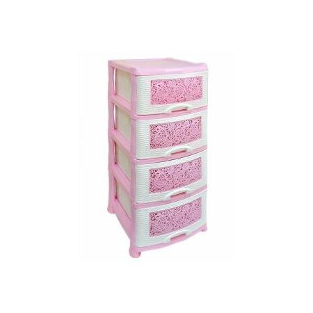 Купить Комод 4-х секционный Violet 0354 «Ажур»