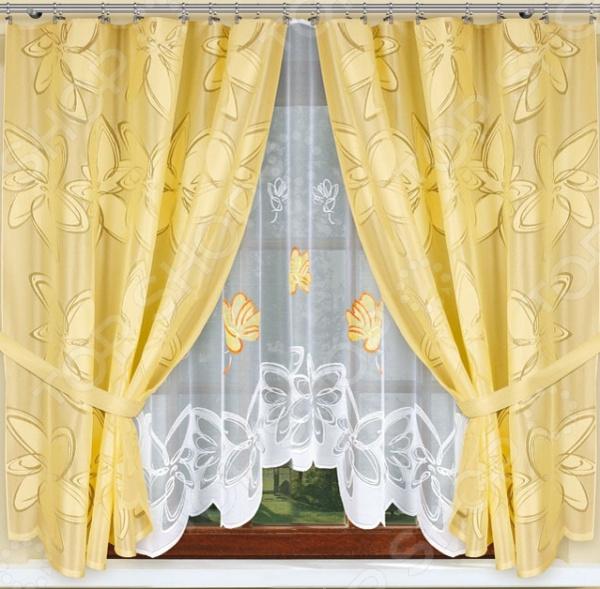Комплект штор Haft 54190 комплект штор с покрывалом для спальни в москве
