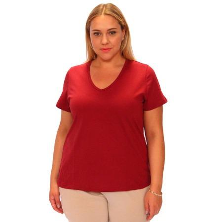 Купить Комплект футболок Матекс «Джоли». Цвет: васильковый, бордовый, красный