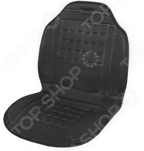 Накидка на сиденье с подогревом и терморегулятором SKYWAY «Квадраты»